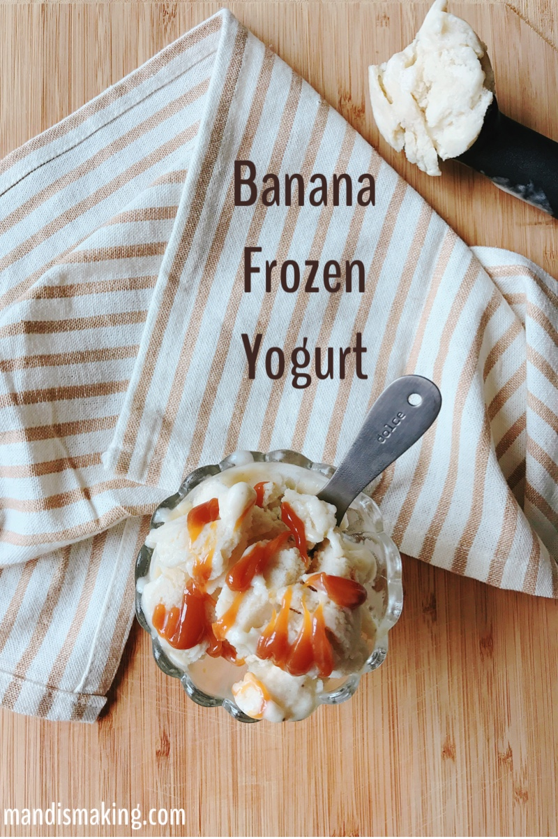 Banana Frozen Yogurt
